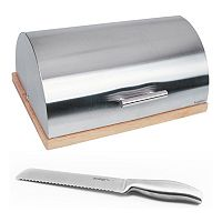 BergHOFF Cubo 2 pc Bread Bin & Knife Set