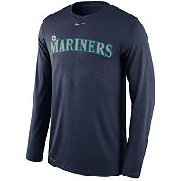 Men's Nike Seattle Mariners Wordmark Dri-FIT Legend Tee