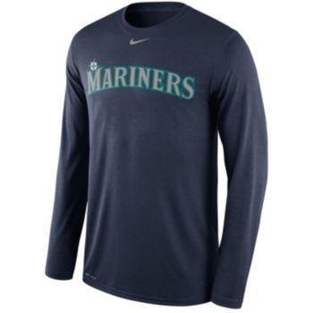 Men's Nike Seattle Mariners Wordmark Dri-FIT Legend Tee