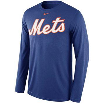 Men's Nike New York Mets Wordmark Dri-FIT Legend Tee