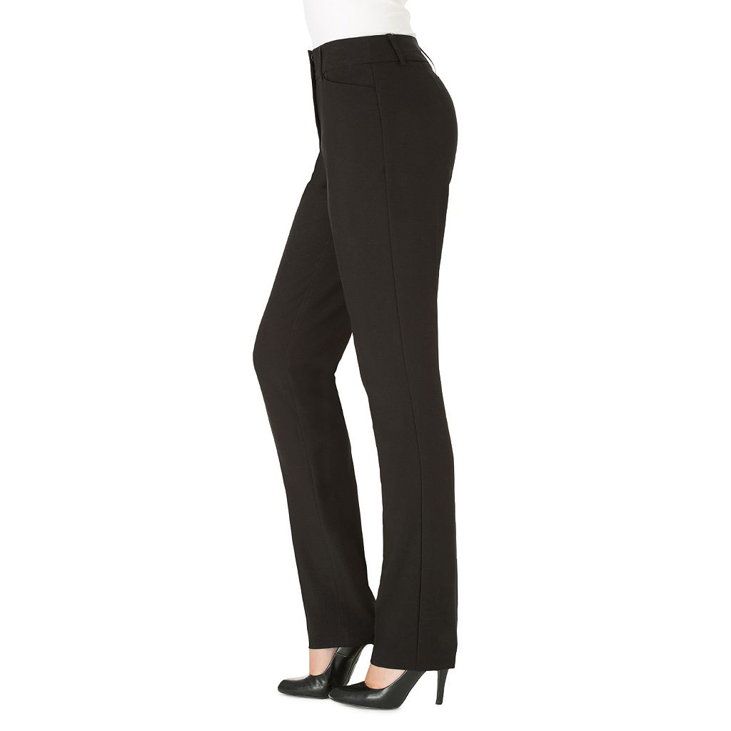 Women's Haggar® Favorite Fit Twill Straight-Leg Pants