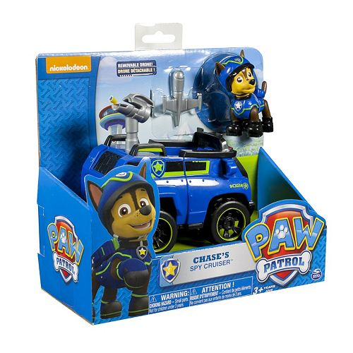 NEW Paw Patrol Chases Spy Cruiser Vehicle FREE SHIPPING