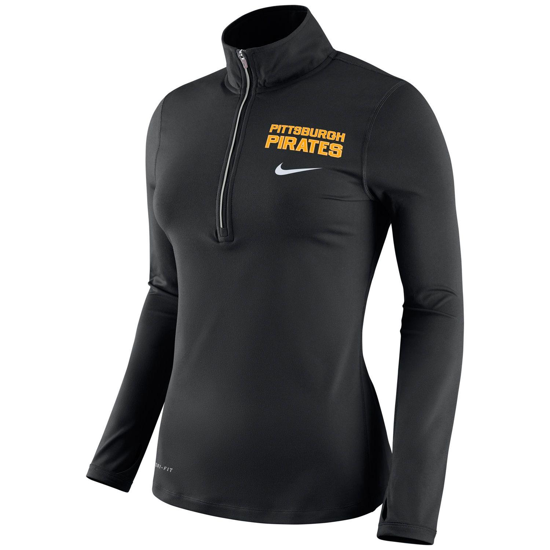 Womens Nike Pittsburgh Pirates Dri-FIT Element Top