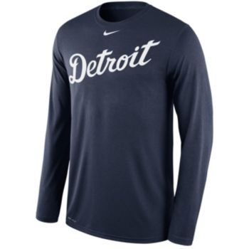 Men's Nike Detroit Tigers Wordmark Dri-FIT Legend Tee