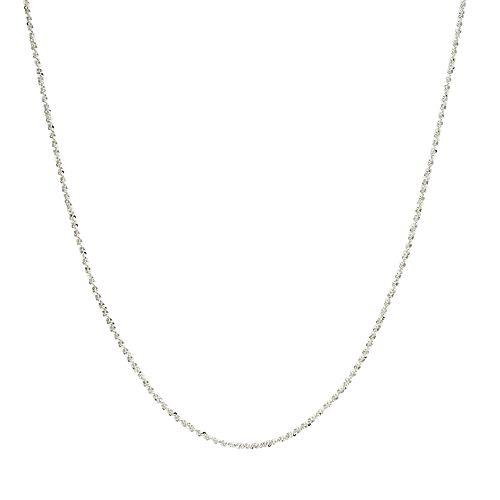 PRIMROSE Sterling Silver Sparkle Chain Necklace - 24 in.