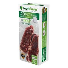 FoodSaver 1-Gallon Pre-Cut Heat-Seal Bags - 28-pk.