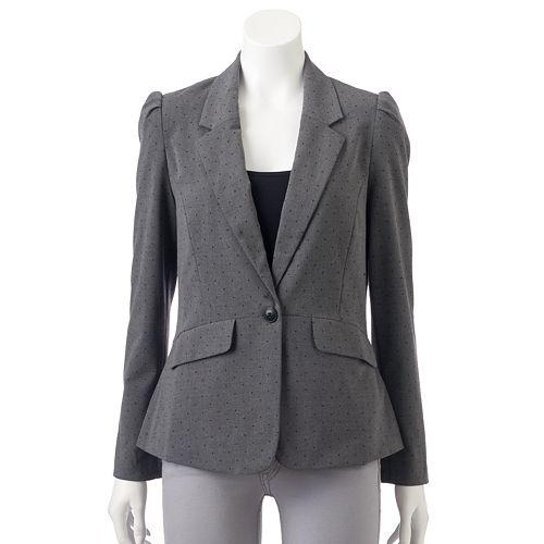 Women's ELLE™ Button-Front Blazer