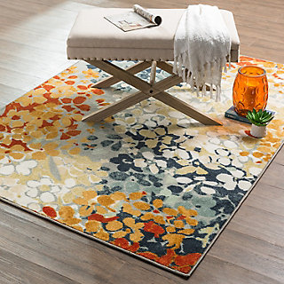 Mohawk 174 Home Radiance Abstract Floral Rug Null