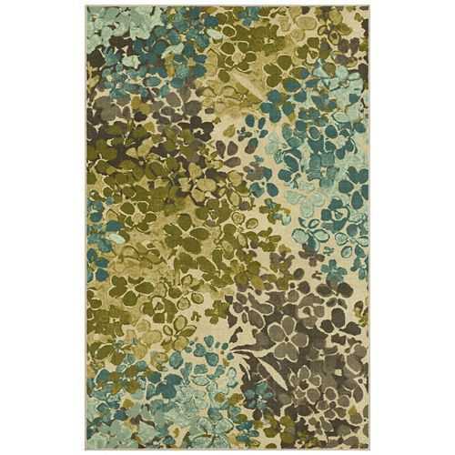 Mohawk 174 Home Radiance Abstract Floral Rug
