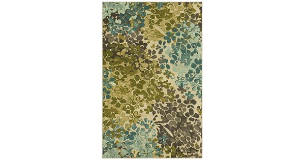 mohawk 174 home radiance abstract floral rug 87756