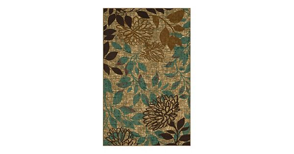 mohawk 174 home garden floral indoor outdoor rug 87756