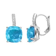 CITY ROX Cubic Zirconia Drop Earrings