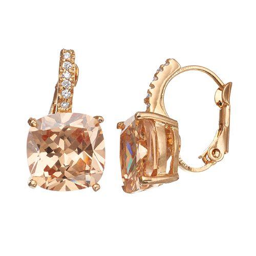 CITY ROX Cubic Zirconia Drop Earrings