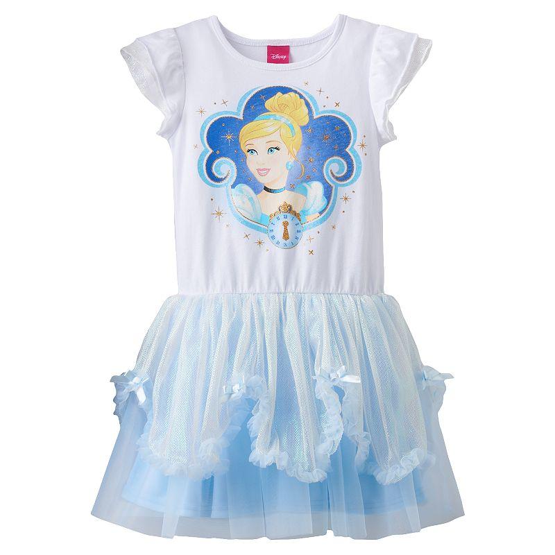 Disney's Cinderella Dress - Girls 4-6x
