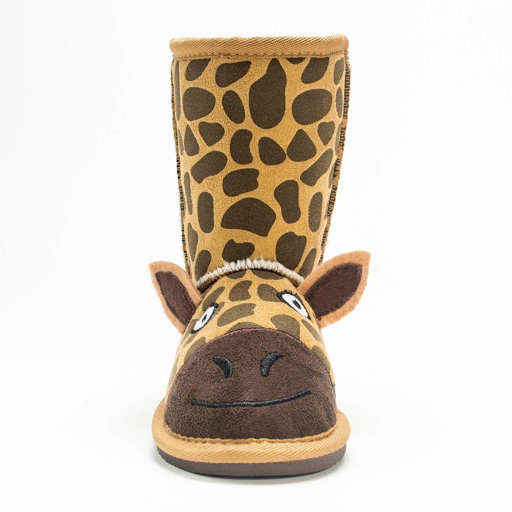 MUK LUKS Gabby Giraffe Kids' Boots