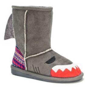 MUK LUKS Finn Shark Kids' Boots
