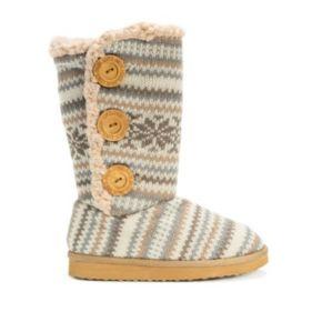 MUK LUKS Malena Girls' Boots