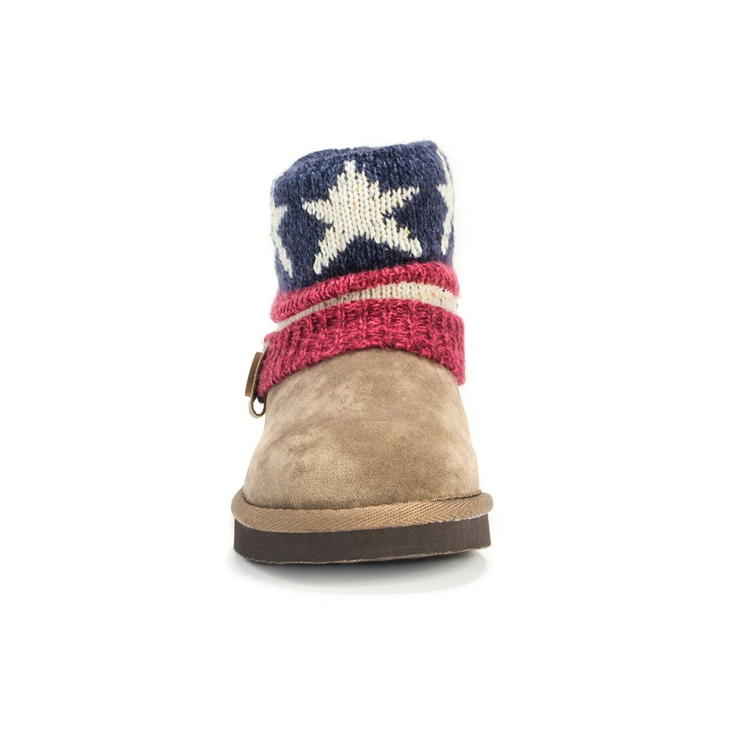 MUK LUKS Patti Girls' Sweater Boots