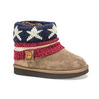 MUK LUKS Patti Girls' Sweater Boots