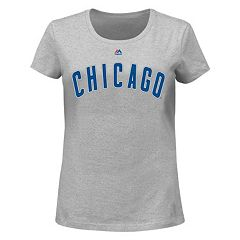 Plus Size Majestic Chicago Cubs AC Team Property Tee