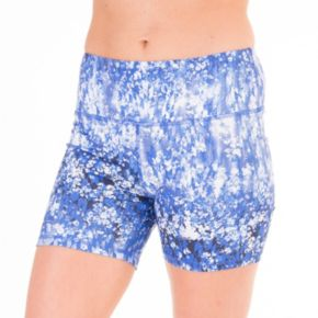90 Degree by Reflex Print Me Workout Shorts - Women's