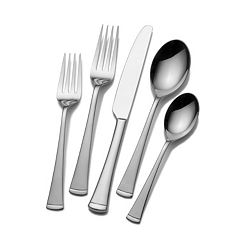 Mikasa Gourmet Basics 45 pc Contempo Flatware Set