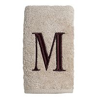 Avanti Embroidered Monogram Hand Towel