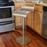 AmeriHome Back Rest Bar Stool