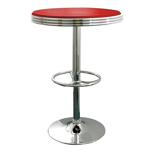 AmeriHome Retro Soda Shop Table