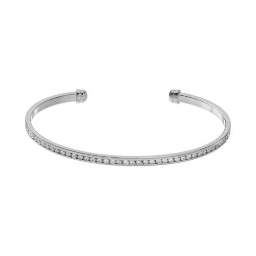 CITY ROX Cubic Zirconia Cuff Bracelet