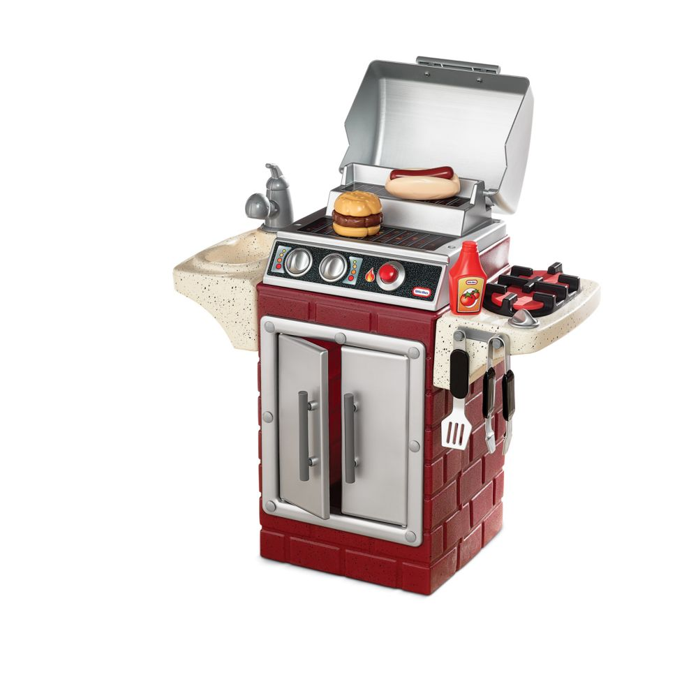 tikes backyard barbeque get out u0027n u0027 grill