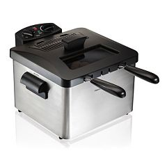 Hamilton Beach 5-qt. Dual Deep Fryer