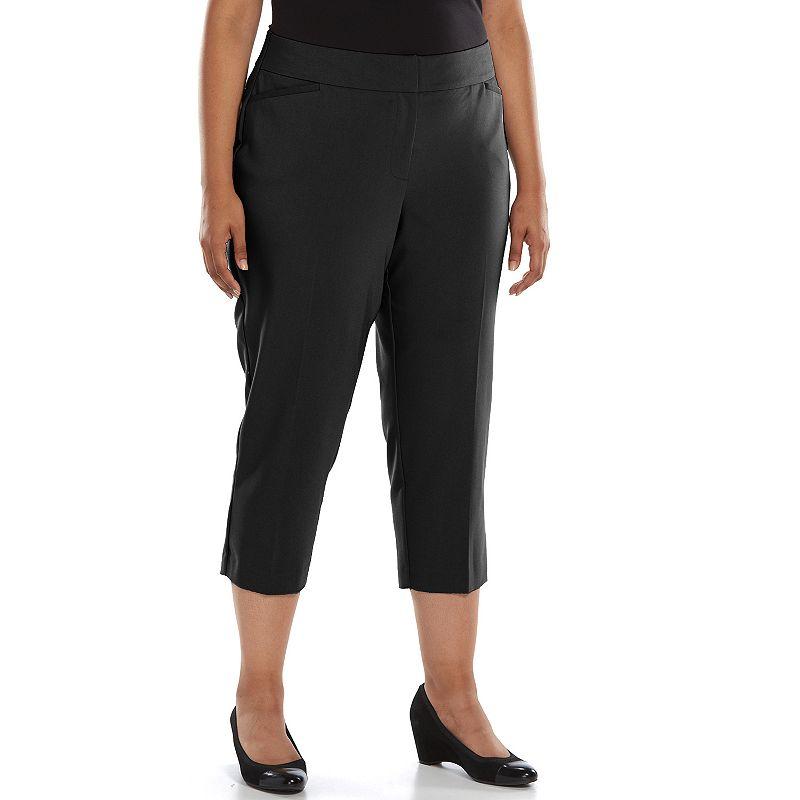 Plus Size Apt. 9® Curvy Fit Capris