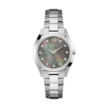 Bulova Women's Stainless Steel Watch - 96P158