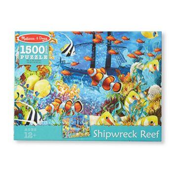 Melissa & Doug 1500-pc. Shipwreck Reef Cardboard Jigsaw Puzzle