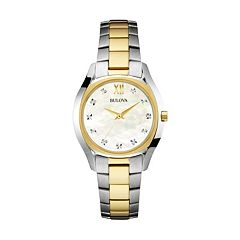 Bulova Women's Two Tone Stainless Steel Watch - 98P145