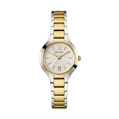 Bulova Women's Two Tone Stainless Steel Watch - 98L217