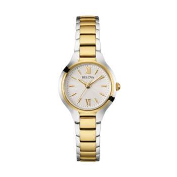 Bulova Women's Two Tone Stainless Steel Watch - 98L217