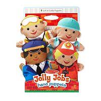 Melissa & Doug Jolly Jobs Hand Puppets