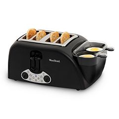 West Bend 4-Slice Egg & Muffin Toaster