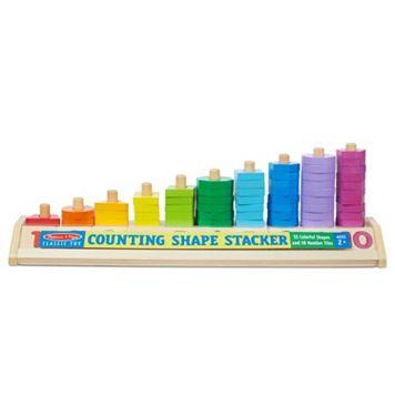Melissa & Doug Counting Shape Stacker