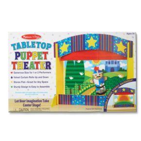 Melissa & Doug Tabletop Puppet Theater