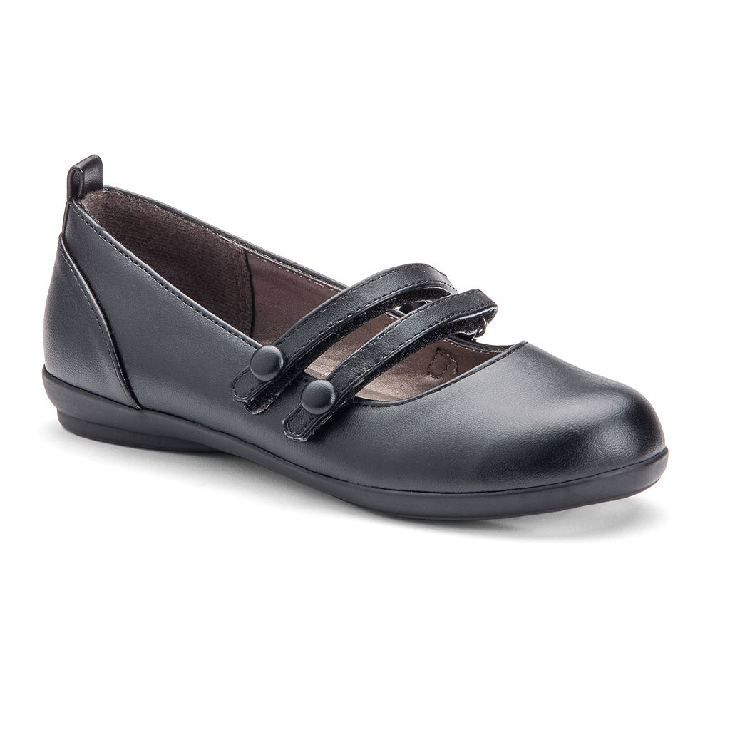 French Toast Caitlin Girls' Mary Jane Double Strap Shoes