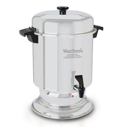 West Bend 55-Cup Stainless Steel Coffee Urn