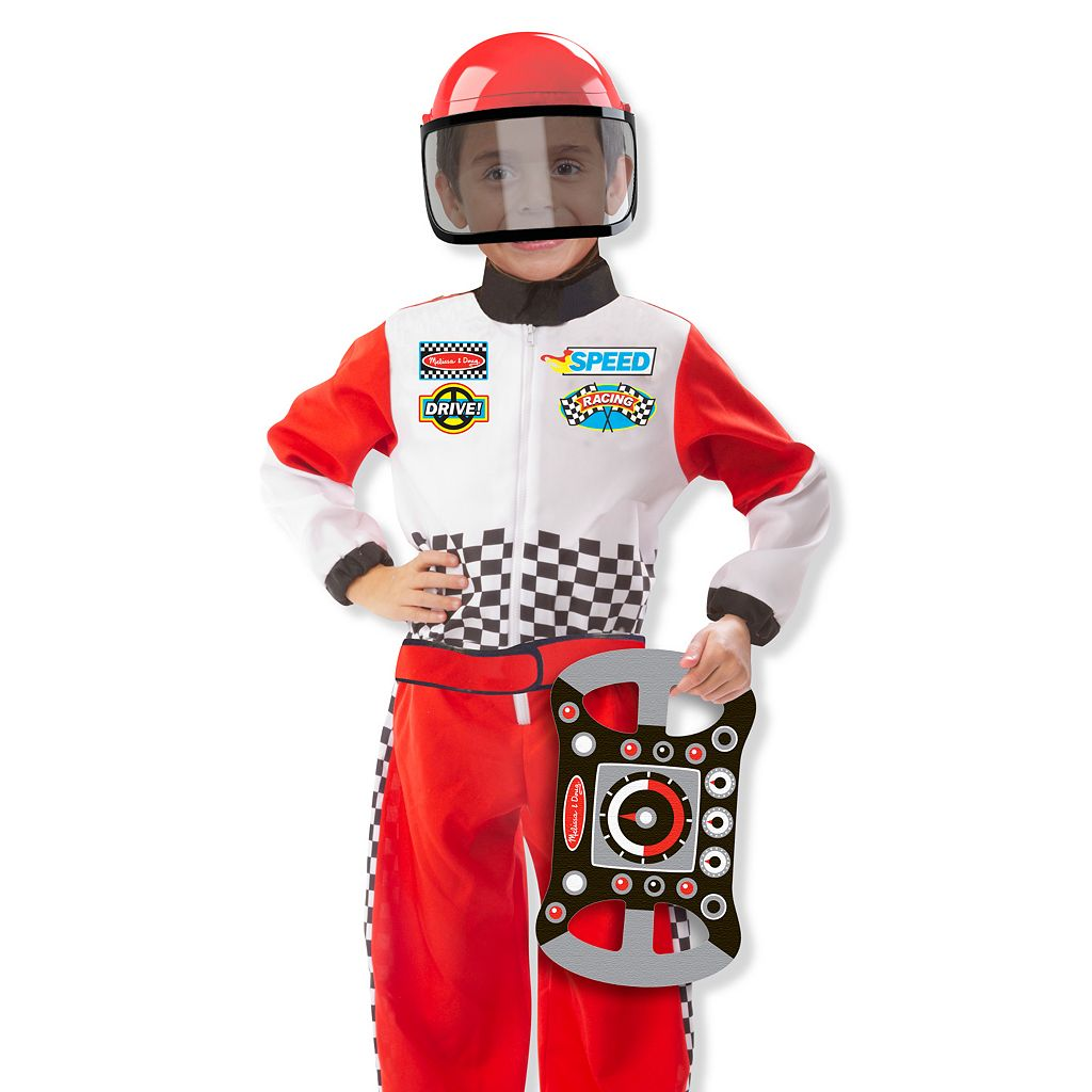 Melissa & Doug Race Car Driver Play Set