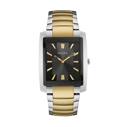 Bulova Men's Two Tone Stainless Steel Watch - 98A149