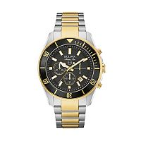 Bulova Men's Marine Star Two Tone Stainless Steel Chronograph Watch - 98B249