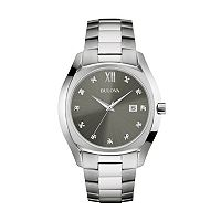 Bulova Men's Stainless Steel Watch - 96D122