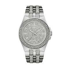 Bulova Men's Crystal Stainless Steel Watch - 96B235