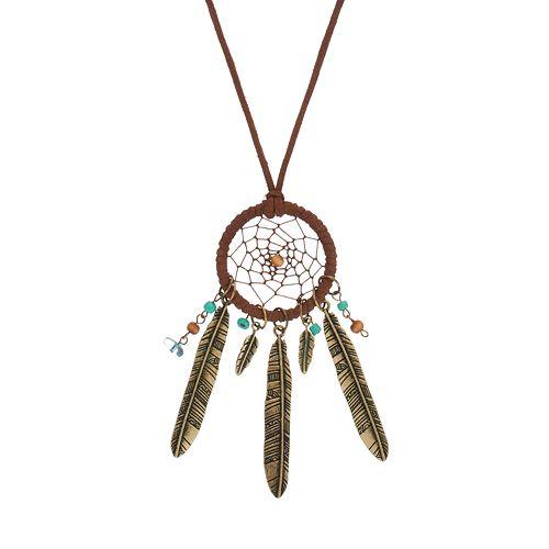 Mudd® Dream Catcher Necklace